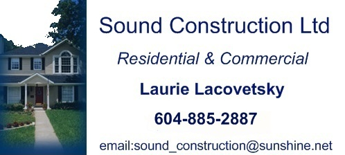 Sound Construction, Gibsons BC