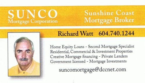 Sunco Mortgage Corp., Gibsons BC