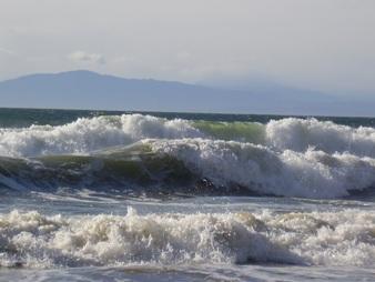 Bonniebrook Beach after a Storm.