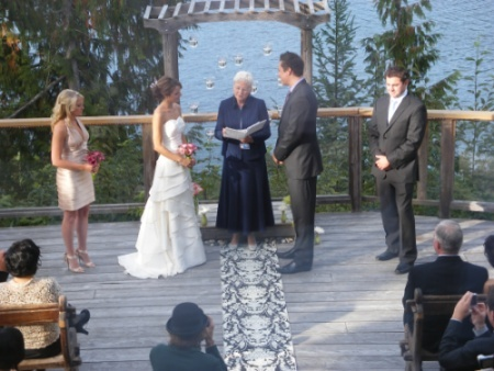 Sunshi;ne Coast BC Wedding - WCWL